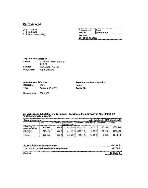 Allianz Rechnung : eucon pr fbericht der allianz irritiert das unfallopfer und diskreditiert den freien ~ Themetempest.com Abrechnung